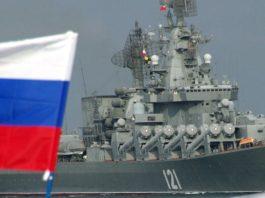 Un incrociatore russo nella base dTartus, Siria - Getty Images