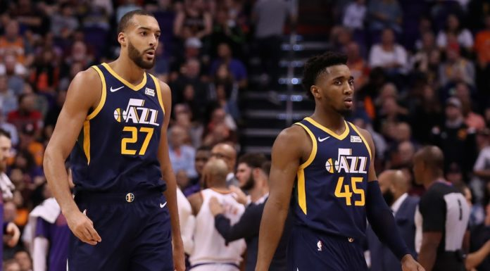 Donovan Mitchell & Rudy Gobert - Fade Away