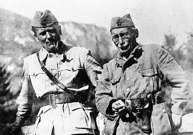 Tito e Moša Pijade