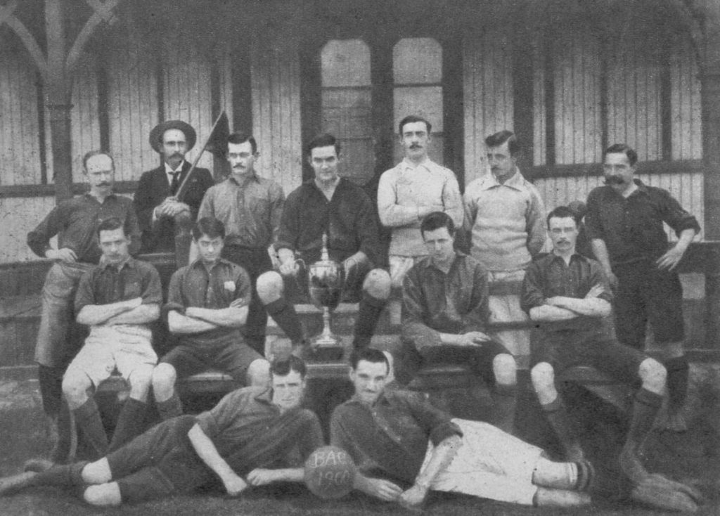 Belgrano Athletic Club con Winston Coe, 1900 ca.