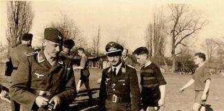 Una squadra nazista allo Stadio Zenit
