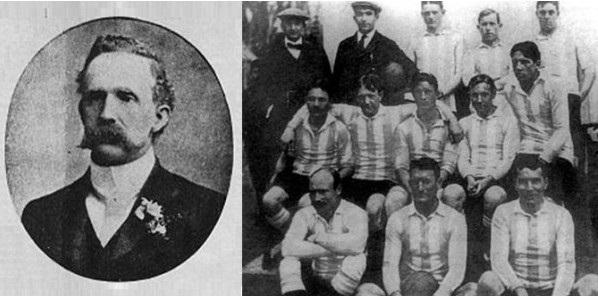 Alexander Watson Hutton e l'Alumni Athletic Club, 1908