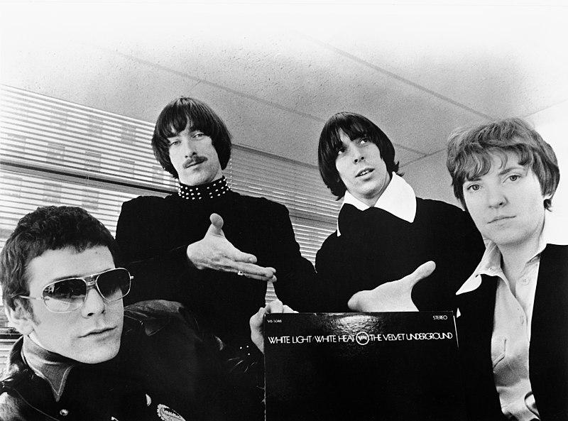 Lou Reed con i Velvet Underground