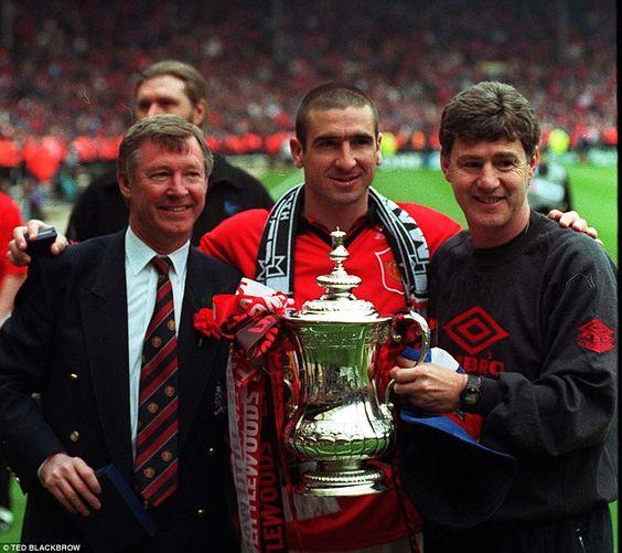 Alex Ferguson, Eric Cantona e Brian Kidd