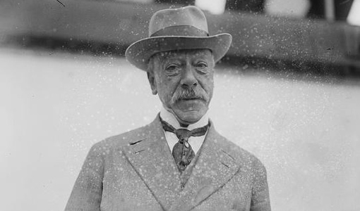 Ernesto Nathan, sindaco di Roma dal 1907 al 1913  © Wikipedia
