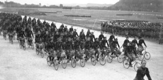 Ciclisti fascisti - Istituto Luce