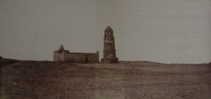 Veduta della torre Al-Mnara a Mogadishu