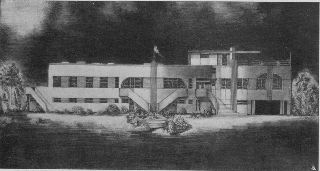 Progetto della Casa degli Italiani