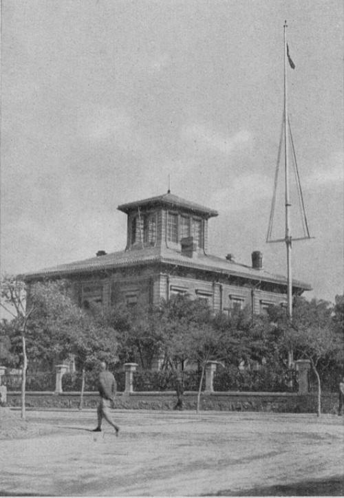 La residenza del console italiano.
