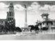 Veduta di Piazza Regina Margherita, la piazza principale della concessione italiana di Tianjin