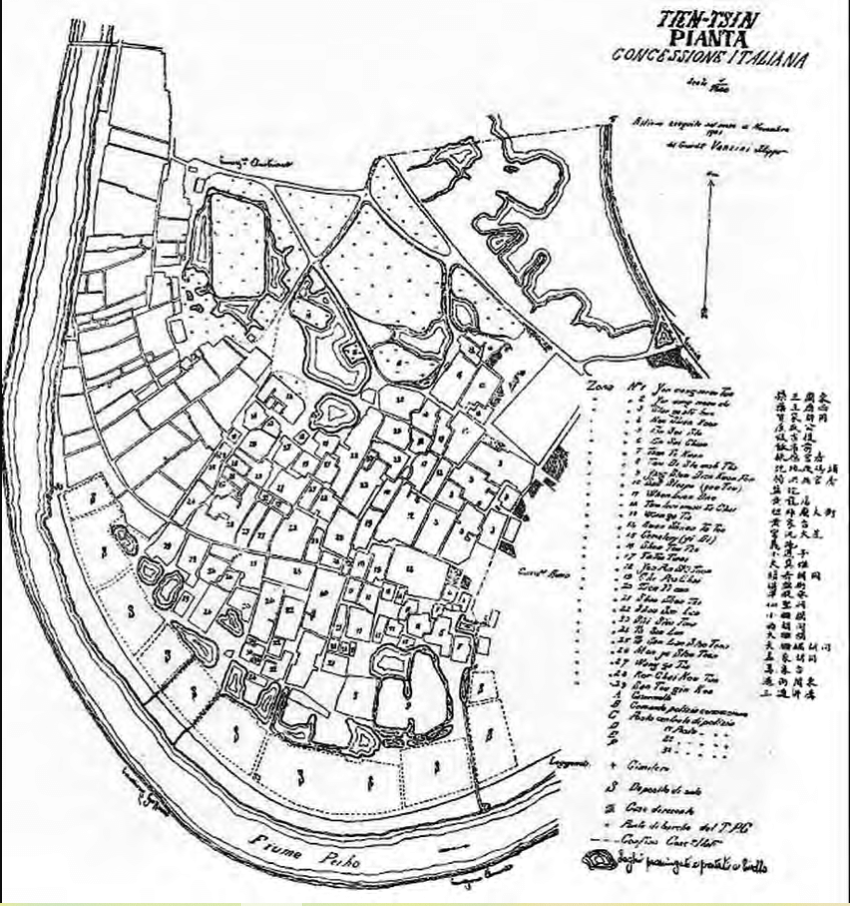 Rilievo di Tianjin 1901