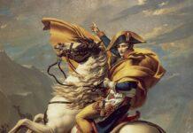 Jacque-Louis David, Bonaparte che valica il Gran San Bernardo