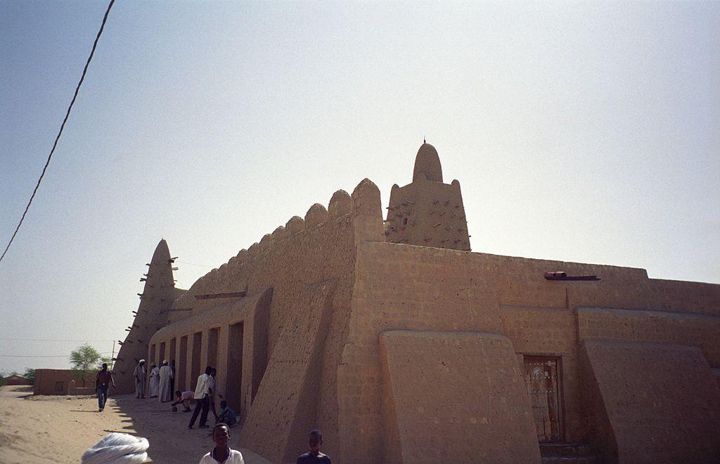 La moschea di Djinguereber a Timbuktu