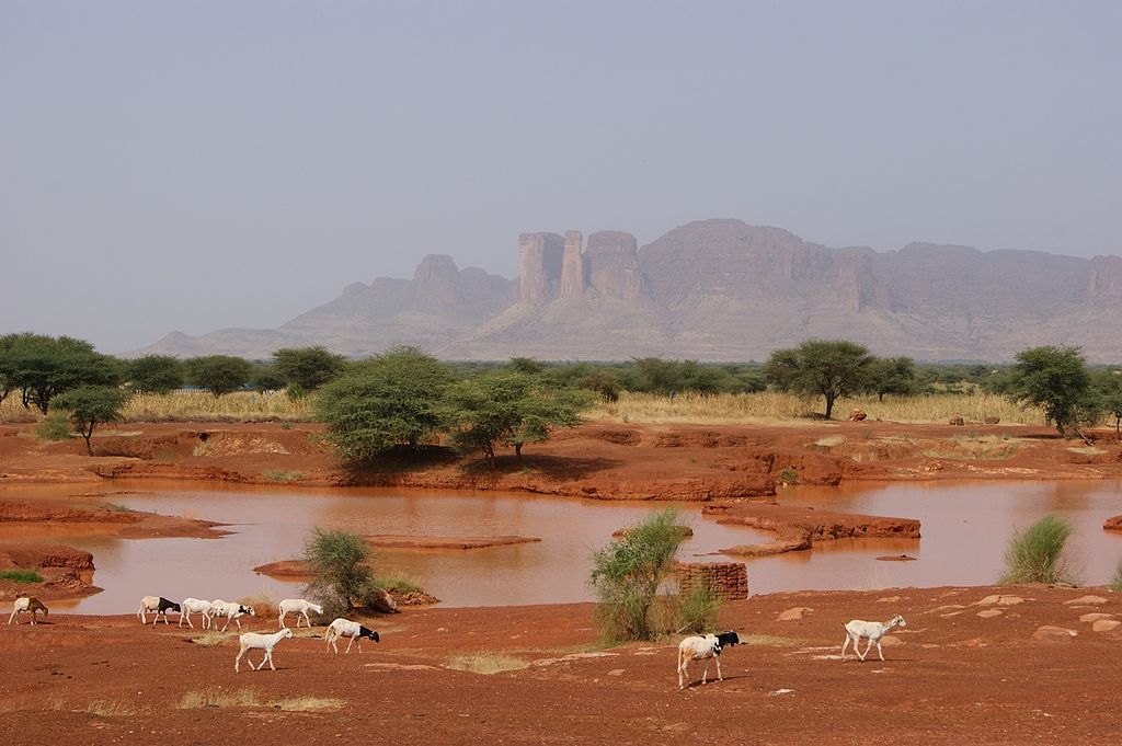 Estensione dell'Impero del Mali al tempo di Mansa Musa