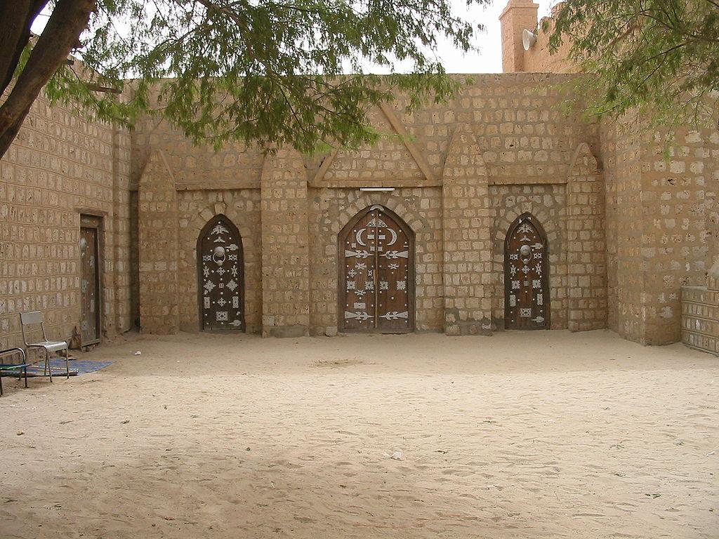 Un cortile della Madrassa di Sankore, centro culturale edificato da Mansa Musa