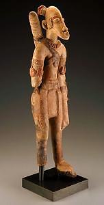 Figura di un arciere di terracotta del Mali, XIII-XV secolo