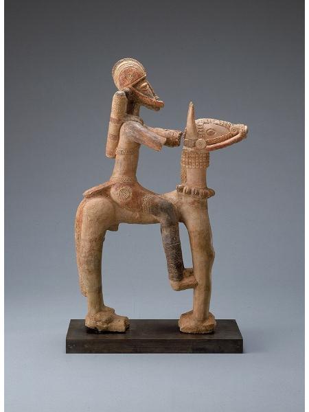Figura equestre di terracotta del Mali, XIII-XV secolo