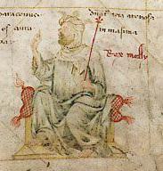 Mansa Musa nella carta di Angelino Dulcert del1339
