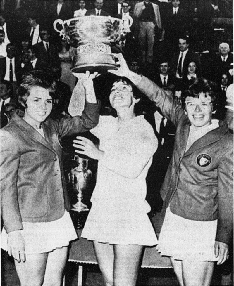Fed Cup di tennis, 1966.